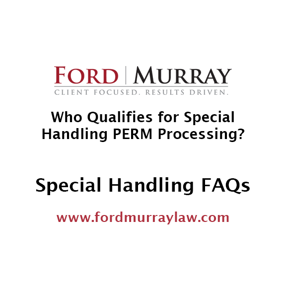 Higher Ed FAQs: Who Qualifies for Special Handling Processing (Video)
